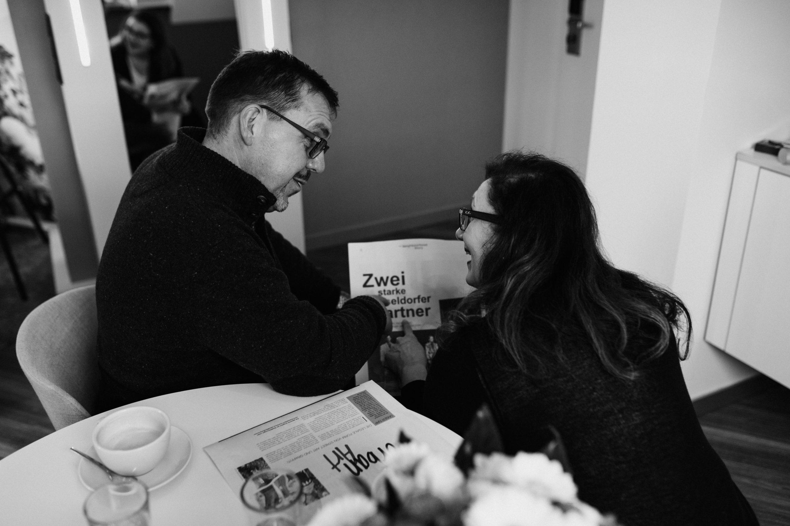 Manager-Paare und die Beziehung